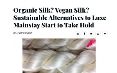 有机丝绸?纯素丝绸?可持续替代品开始成为奢侈品主流