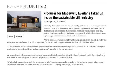 Producer for Madewell, Everlane takes us inside the sustainable silk industry