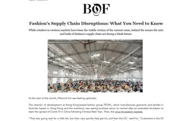 Business of Fashion: Fashion's Supply Chain Disruptions: What You Need to Know