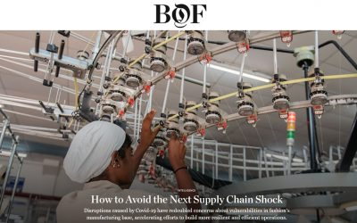 """""""How to Avoid the Next Supply Chain Shock"""""""