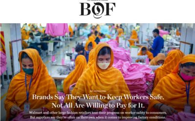 Brands Say They Want to Keep Workers Safe. Not All Are Willing to Pay for It.