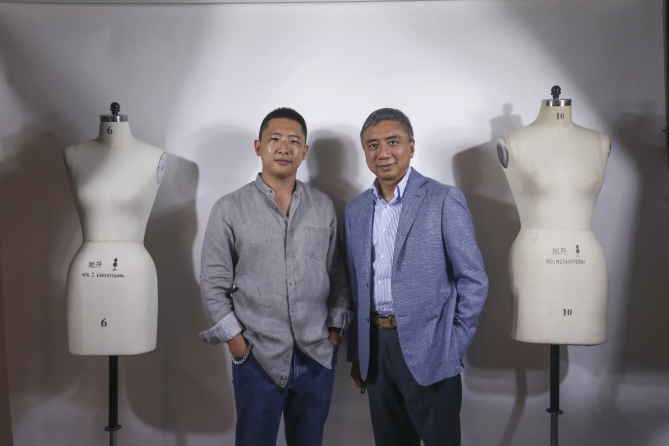 """Bombyx was established in 2018 by Andrew (right) and Hilmond Hui. The organic silk company invests its all in environmentally friendly silkworm farming and a sustainable factory in Sichuan """"where silk began"""" in China. Photo: Jonathan WongBombyx was established in 2018 by Andrew (right) and Hilmond Hui. The organic silk company invests its all in environmentally friendly silkworm farming and a sustainable factory in Sichuan """"where silk began"""" in China. Photo: Jonathan Wong Bombyx was established in 2018 by Andrew (right) and Hilmond Hui. The organic silk company invests its all in environmentally friendly silkworm farming and a sustainable factory in Sichuan """"where silk began"""" in China. Photo: Jonathan Wong Transforming fluffy white silkworm cocoons nurtured on Chinese mulberry trees into high-fashion silk shirts, blouses, jackets and other garments is a long, multi-stage process of harvesting, washing, spinning, weaving, dying and sewing.  One privately owned Hong Kong company will soon own and manage every stage of this silk journey.  Bombyx, named after the Latin word for the silkworm, was established in 2018 by Andrew and Hilmond Hui, father-and-son entrepreneurs who have invested in the social importance and future profitability of organic silk and sustainable enterprise. Their investment is a long-term bet on what the world needs in a time of climate change and increasing environmental sensitivity, and what the world will pay for in the decades to come.  Silkworm cocoons are processed at the Bombyx factory in China.  Silkworm cocoons are processed at the Bombyx factory in China. Bombyx, the Huis say, will forge a sustainable trail for other silk producers to follow, using the latest best practice in irrigation, with terracing and wells, in agriculture with double cropping and chemical-free nurture, and in manufacture with sustainable energy use in the factory – 90 minutes from the mulberry trees in Sichuan, southwest China.   Producing organic and sustainable s"""